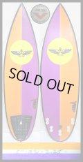 """【レア!】 VON SOL Surfboards/シェイパー本人用 5'11""""EPS!!"""