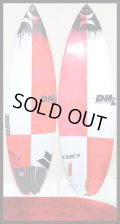 【貴重/最新!!!】 DHD/DX-1 For Jack Freestone 5'11 191/2 21/2