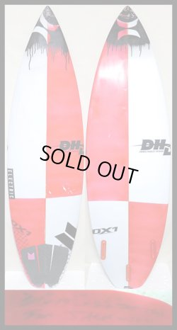 画像1: 【貴重/最新!!!】 DHD/DX-1 For Jack Freestone 5'11 191/2 21/2
