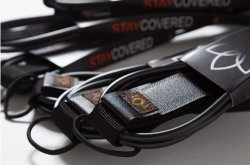 画像2: 【新入荷!】 STAY COVERED/9'0 Ankle STANDARD LEASH 【MADE IN USA】