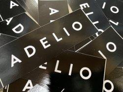 画像1:  ADELIO/ライダーステッカー